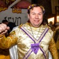 Golden God of Mardi Gras, made by Julianne
