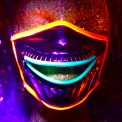 neon dust masks