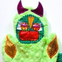 tickle monster puppet