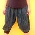 chevron genie pants, made by Julianne