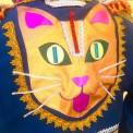Custom cat jacket, made by Julianne