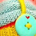knit beehive turban