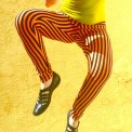 stripe leggings