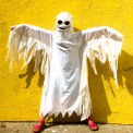 ghostie costume, made by Julianne