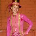 pink tux bodysuit