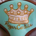 Royal seat cover, made by Julianne