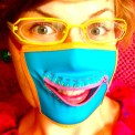 zipper gag mask