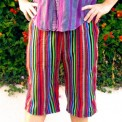 rainbow shorts, made by Julianne