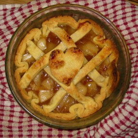 surprise apple pie