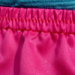 Allia pink glitter skirt waist