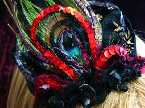 burlesque peacock