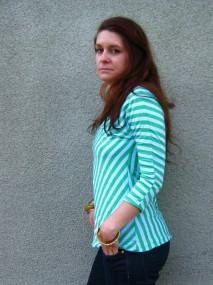 aloe striped shirt