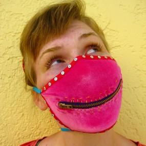 velvet mask
