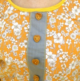 indian summer dress detail