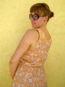 indian summer dress detail