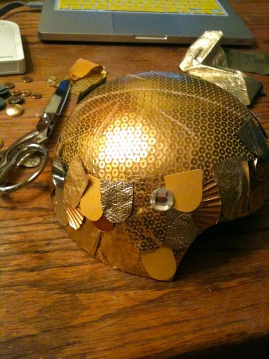 goldfish helmet