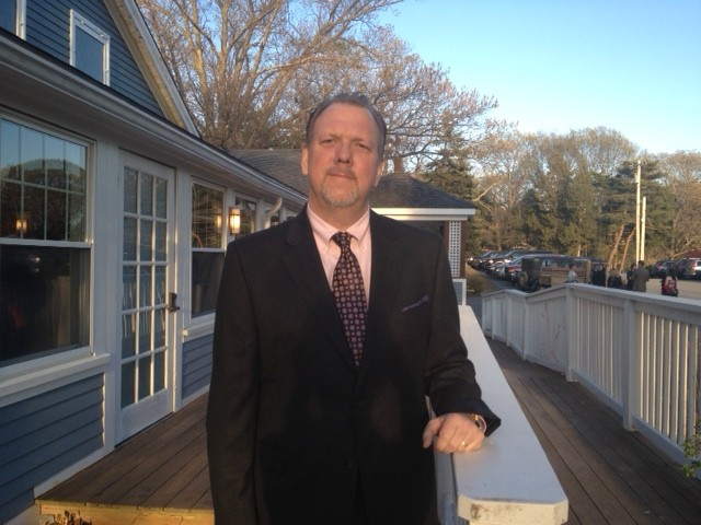 my dad all spruced up