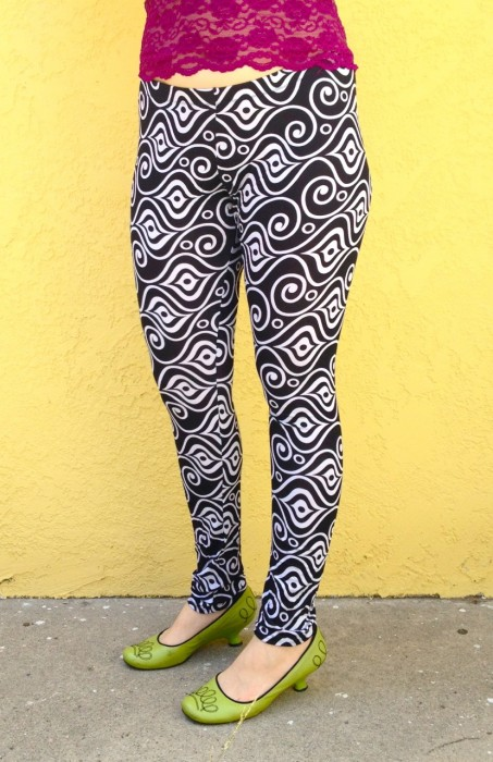 opulent optic leggings