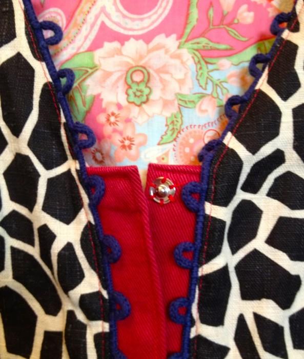 giraffe vest