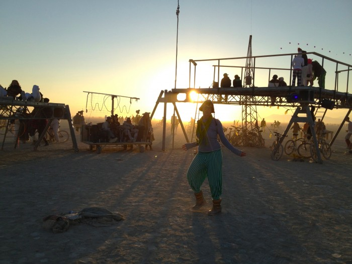 genie pants at Burning Man