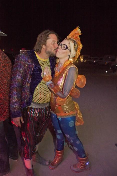 goldfish costume, Made by Julianne, photo by Blake Gardner
