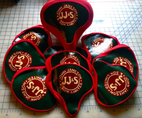 Jameson seat covers, made by Julianne