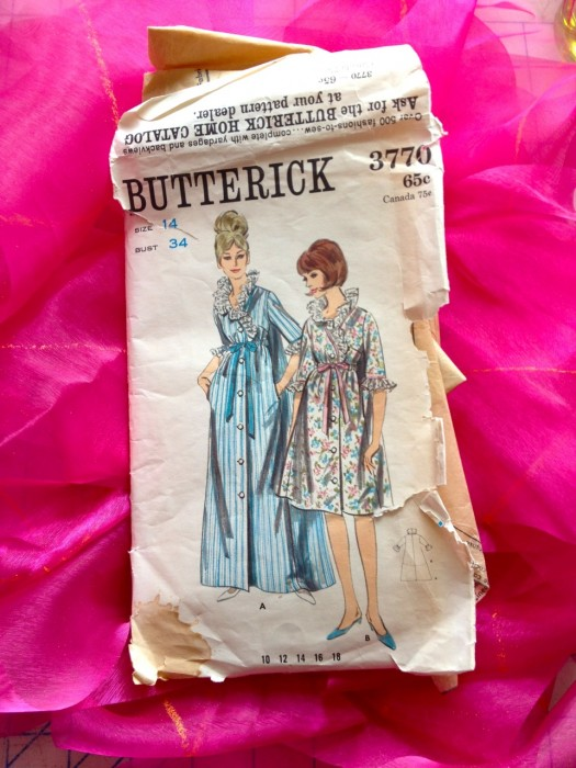 Butterick 3770, made by Julianne