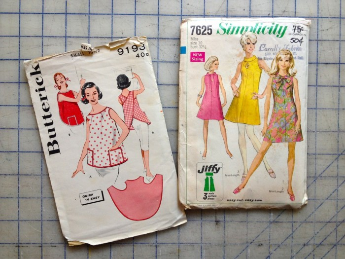 vintage patterns, made by Julianne