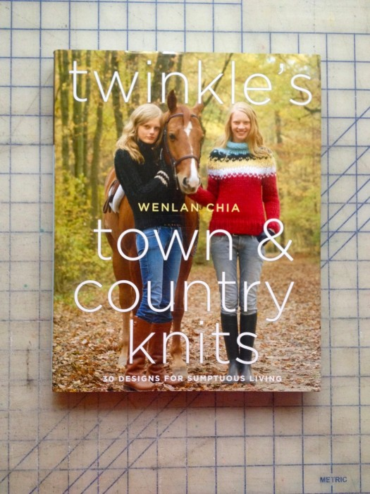 Twinkle Knits book giveaway, made by Julianne
