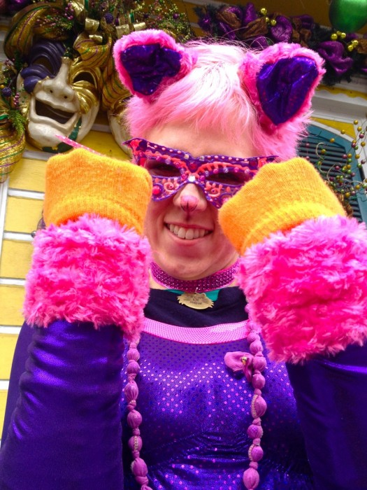 sparklepussy cat costume, made by Julianne