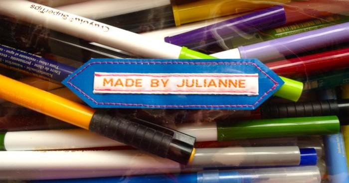 marker bag tag