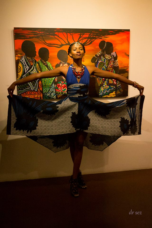 Mami Afrika designs, made by Julianne