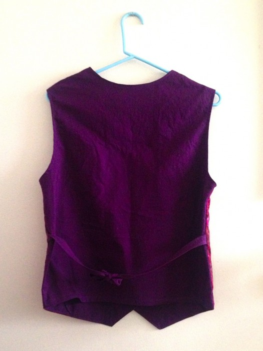 custom server vest, made by Julianne
