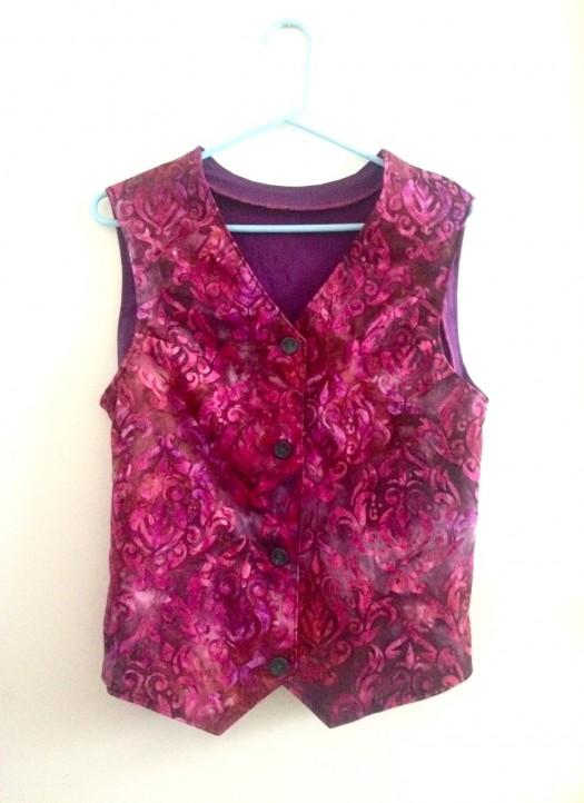 custom server vest, made by Julianne