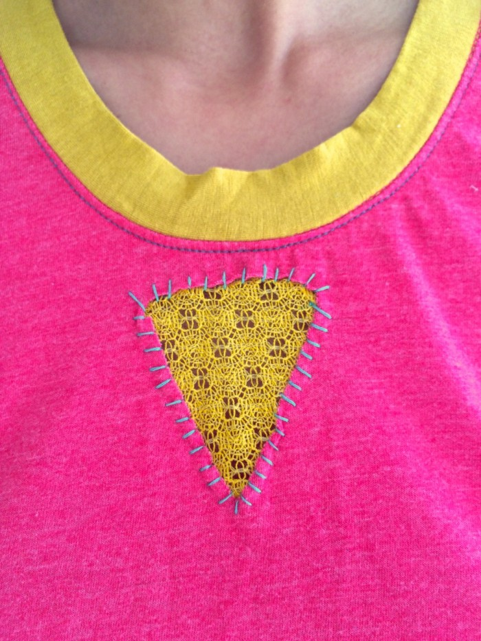 Shing shirt, made by Julianne