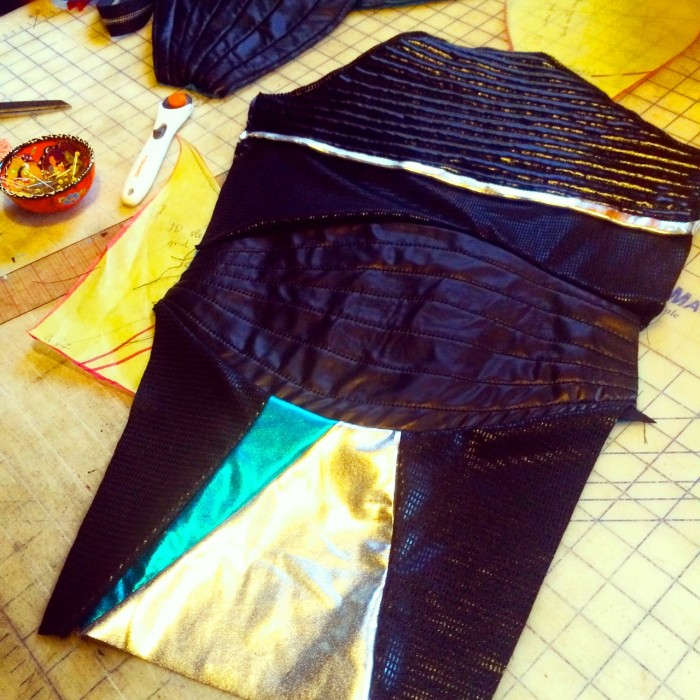 Story of the Running Wolf EP release costumes, Made by Julianne