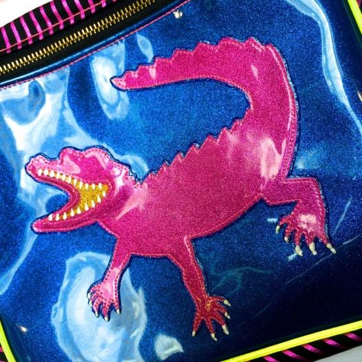 baby pink alligator